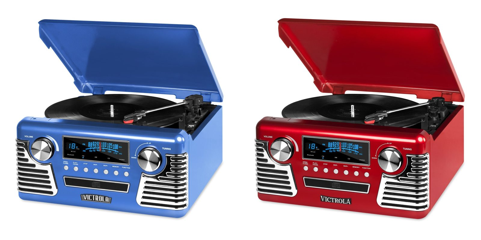 This retro-style Victrola turntable has Bluetooth for $60 (Reg. $80+)