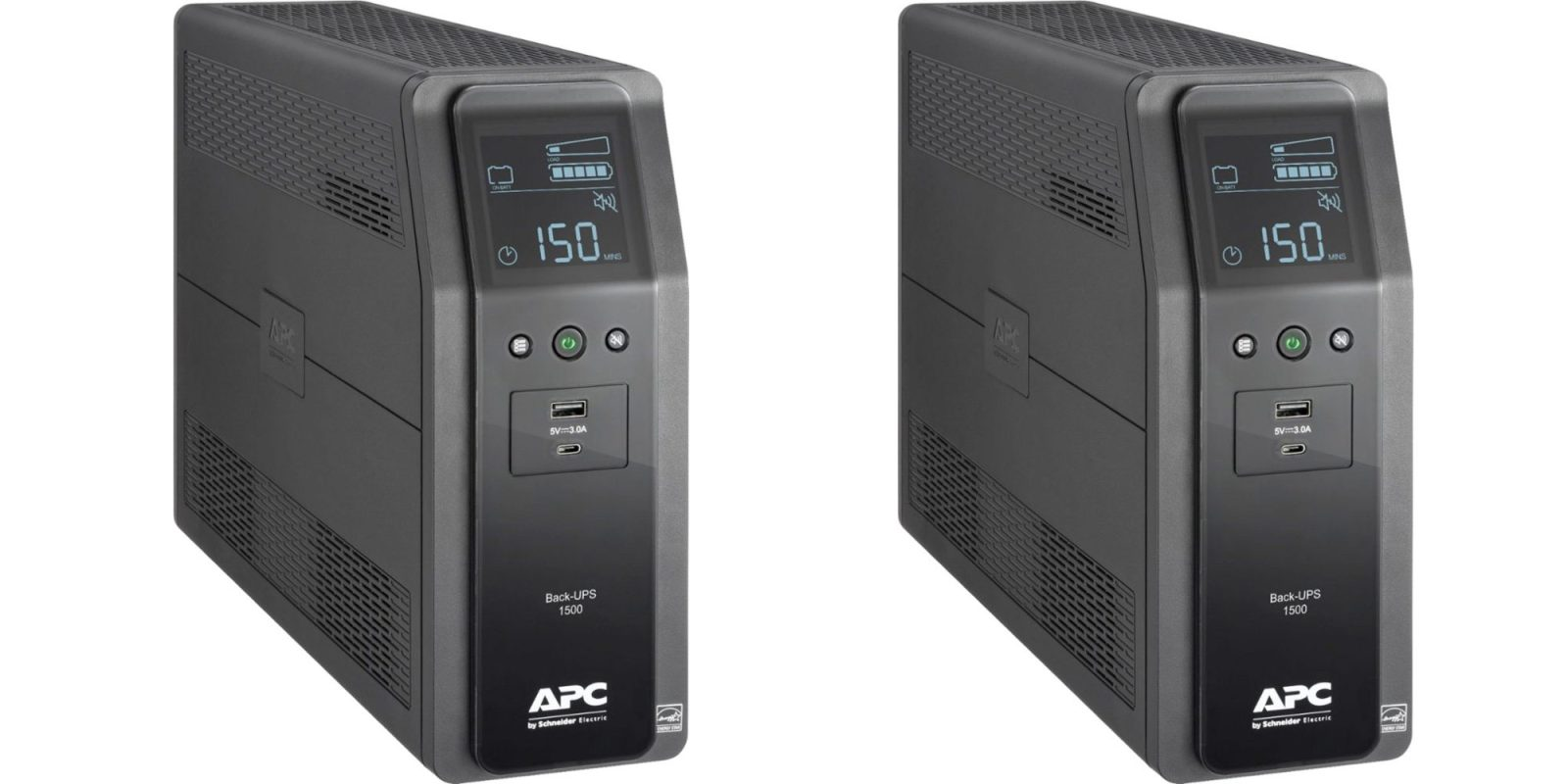 Save 20% on APC's Pro 1500VA battery backup + surge protector, now $160