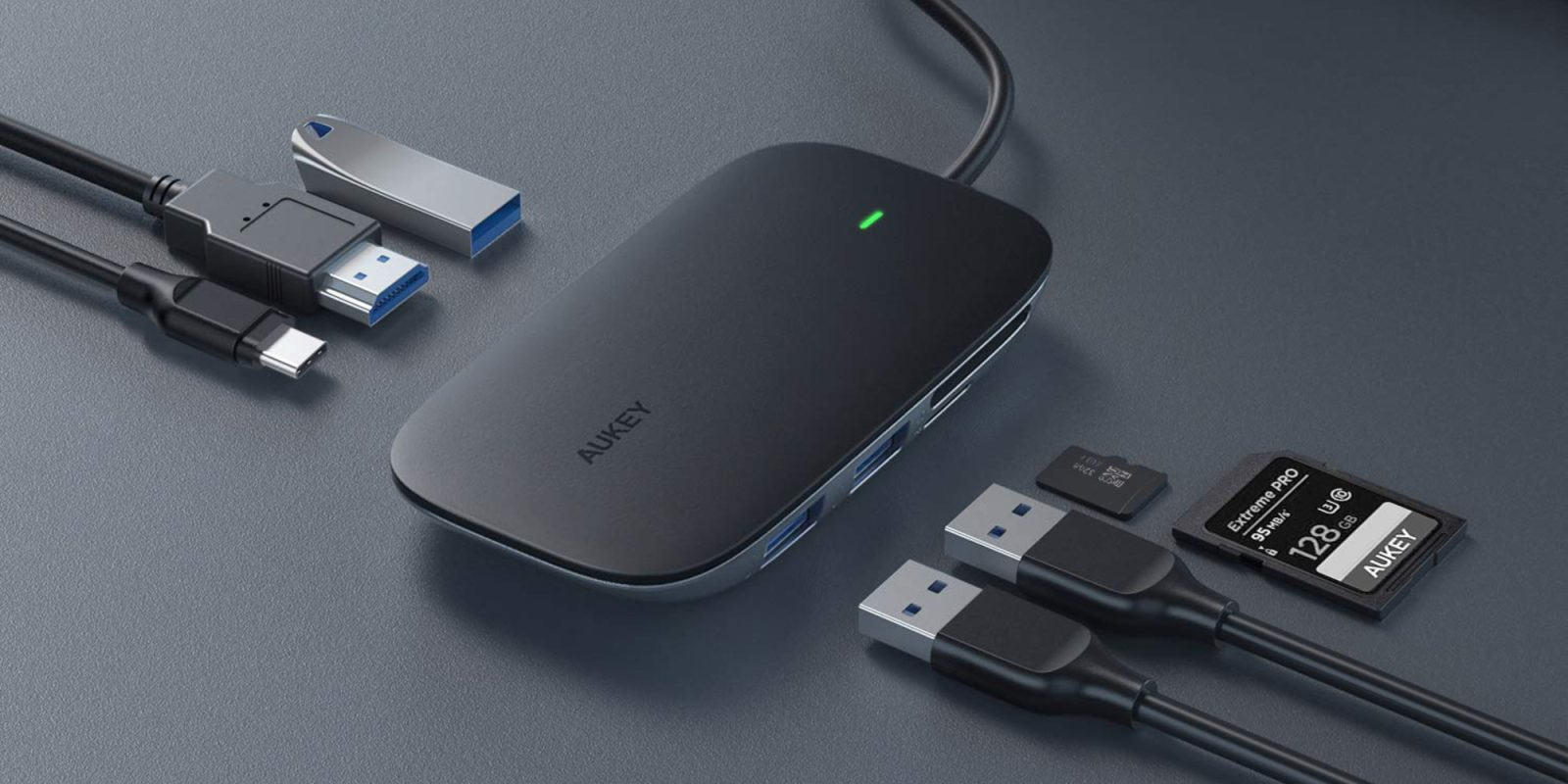 Add Aukey's 7-in-1 USB-C hub with power delivery to your Mac at $25 (Save 50%)