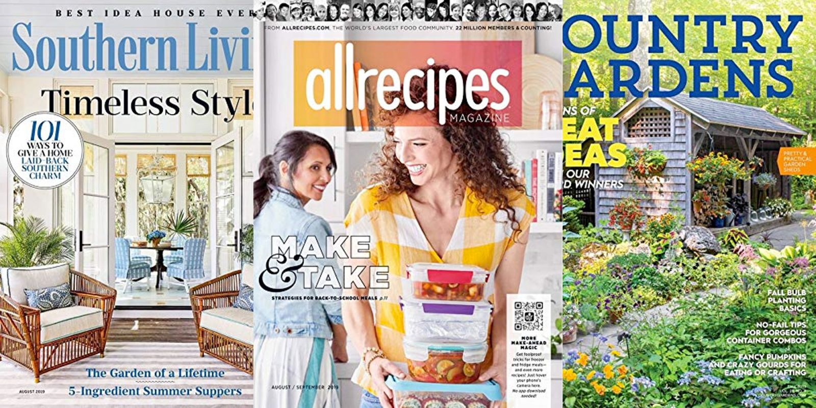Kindle magazine subs from under $4: AllRecipes, Better Homes and Gardens, more