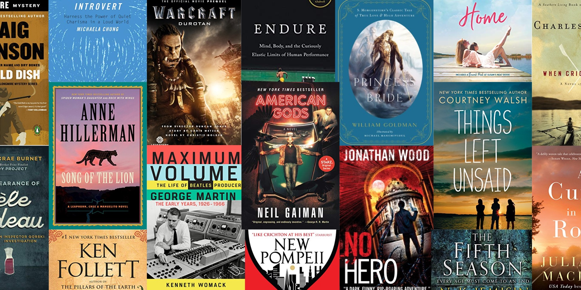 Grow your Kindle library w/ discounted top reads in today's eBook
