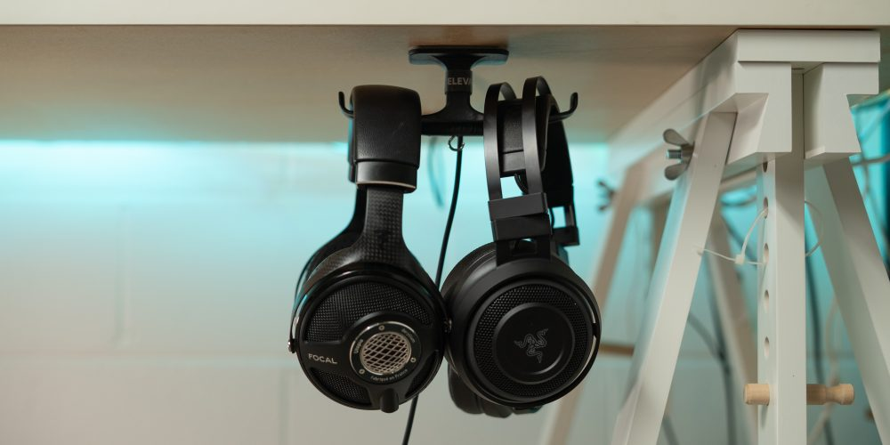Razer and Focal headphones on the Anchor Pro