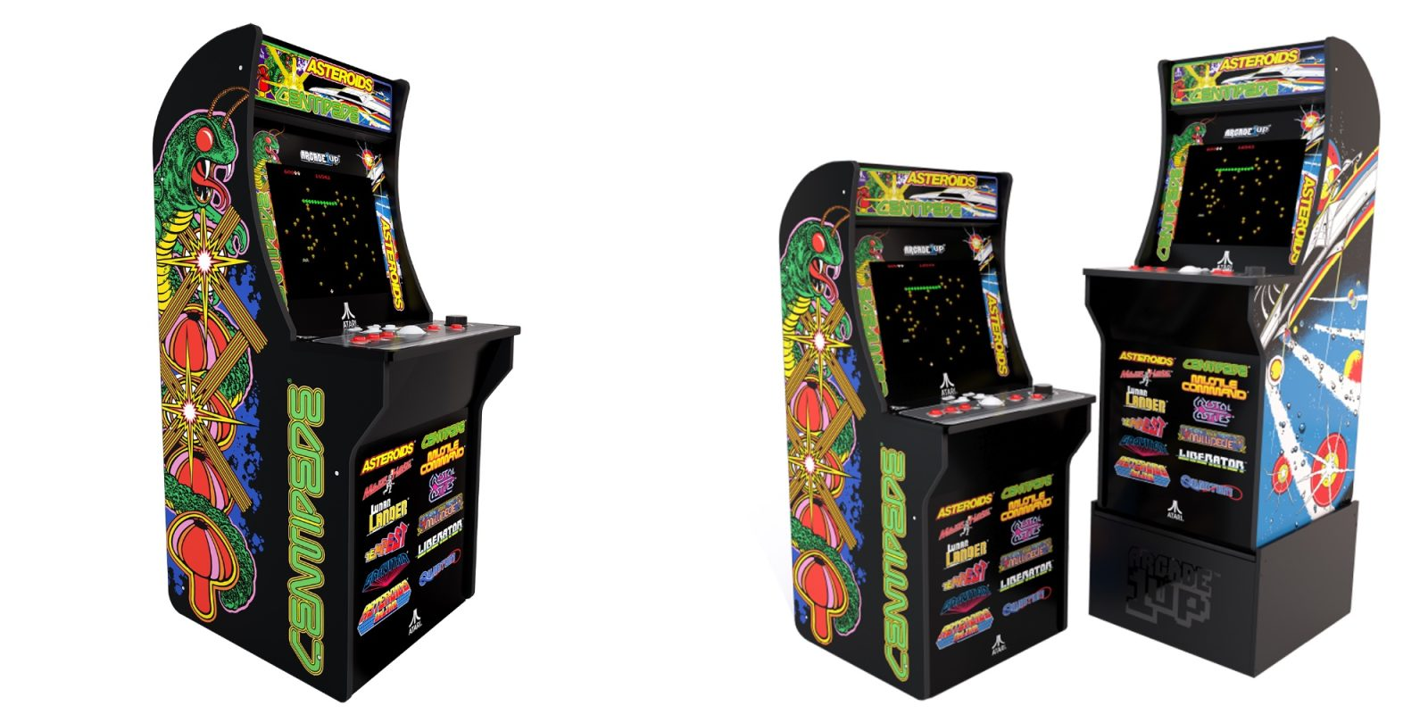 Add 12 retro titles to your game room with 25% off Arcade1Up's