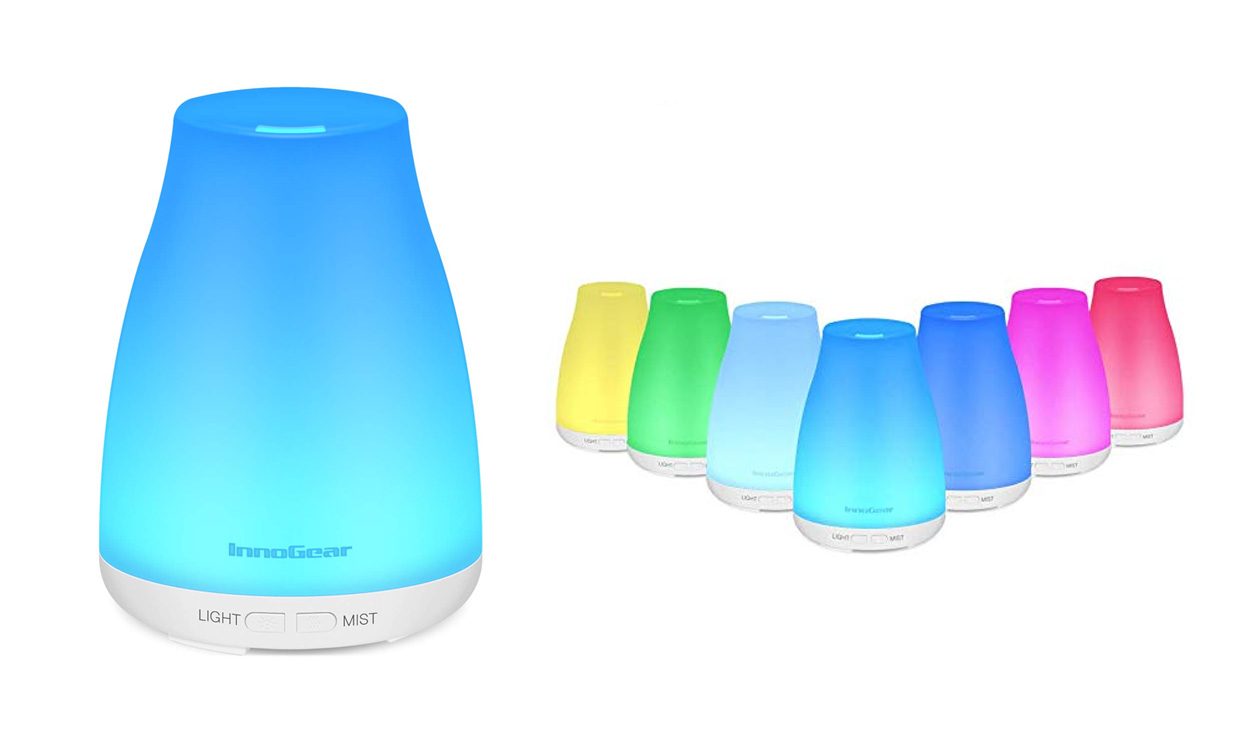 Colorful essential oil diffuser for just $13 Prime shipped at Amazon