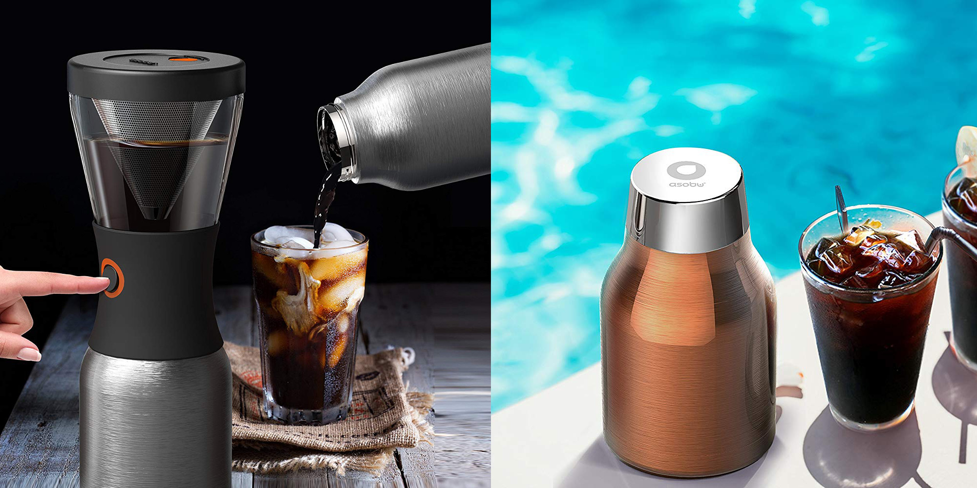 Asobu's Portable Cold Brew Coffee Maker hits the Amazon ...