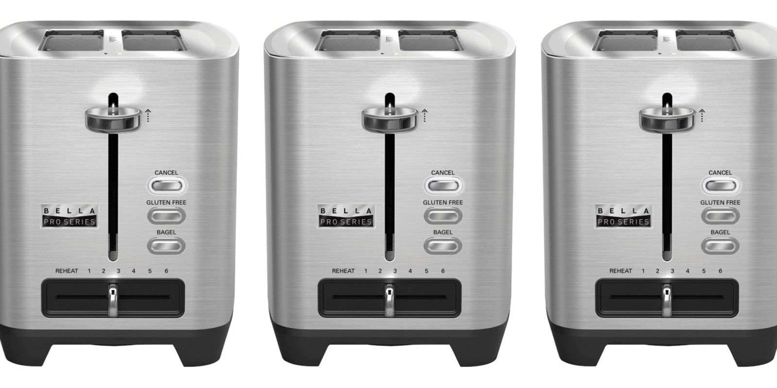 Put this steel 2-slice toaster on the counter for $20 (Reg. up to $50)