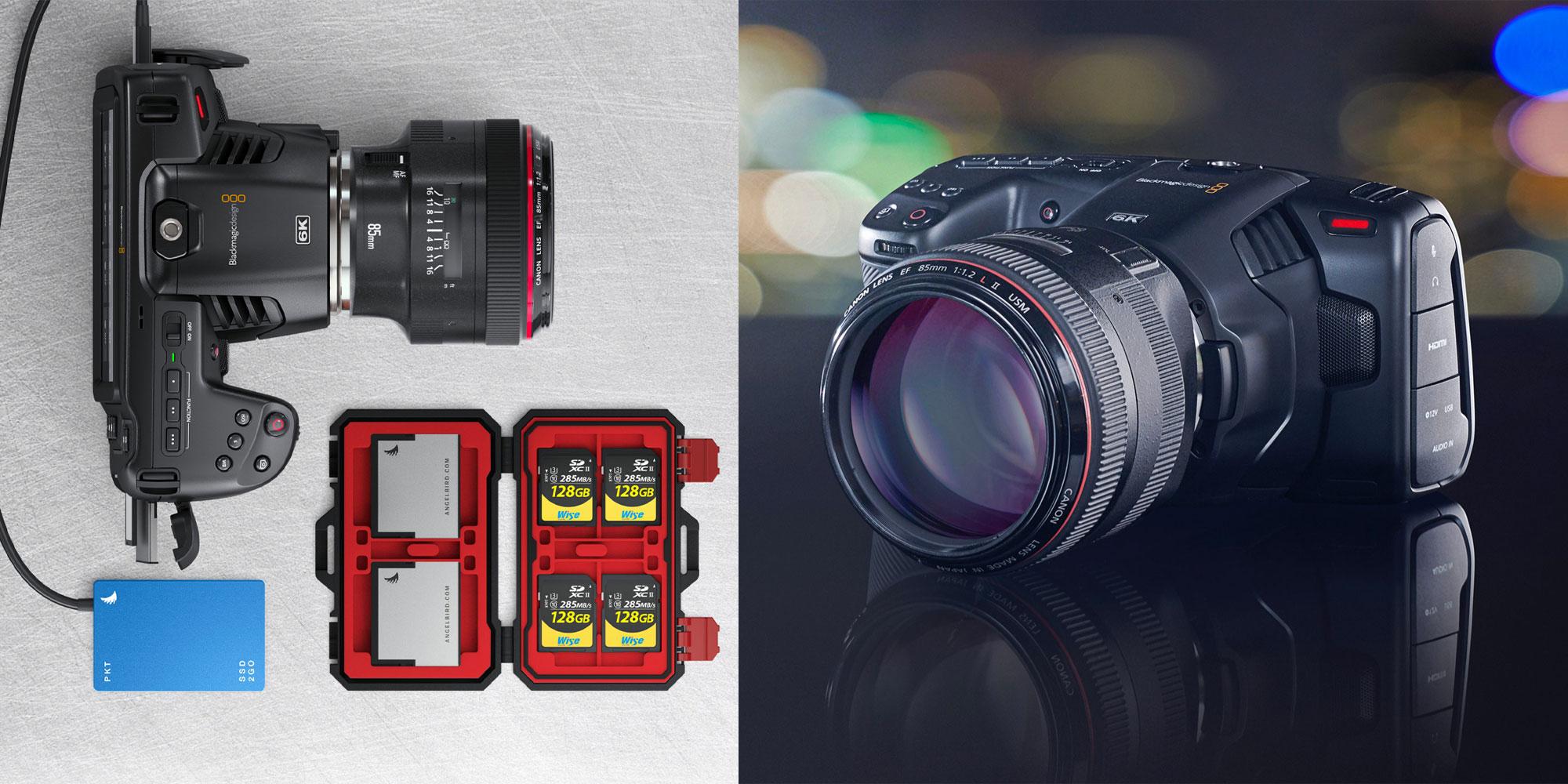 Blackmagic Pocket Cinema Camera 6k Goes Ef Usb C 9to5toys