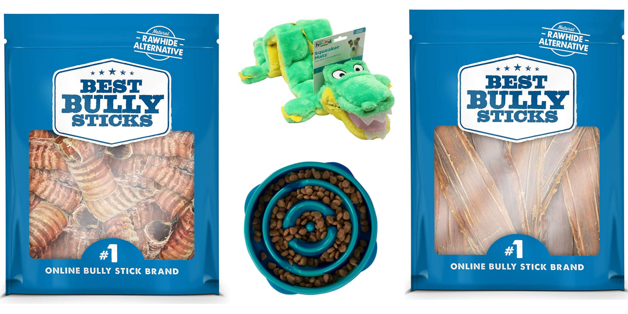 Amazon offers up to 35% off dog treats, toys, bowls, more from $6
