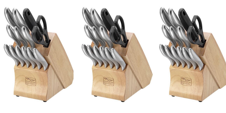 Chicago's 14-Piece Knife Block + lifetime warranty: $40.50 (Reg. $60), more