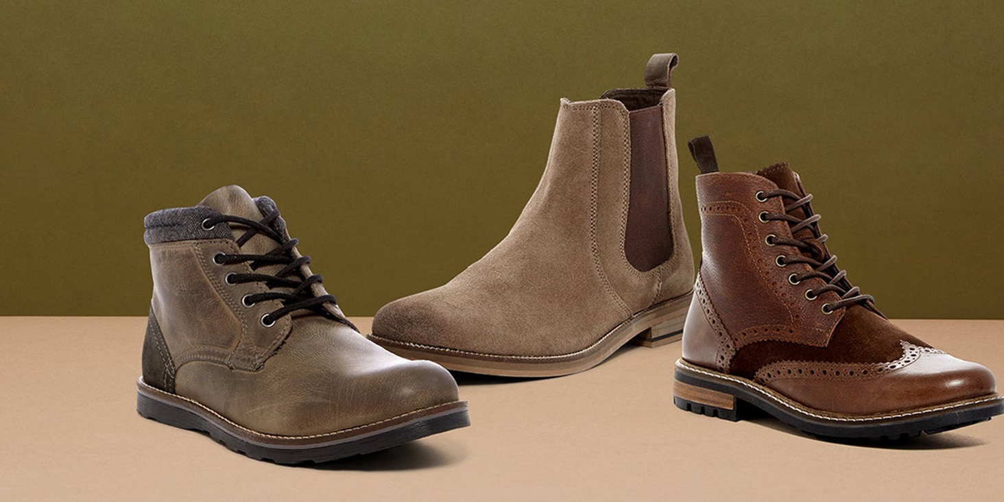 Crevo men's boots and shoes for fall at up to 60% off from $35