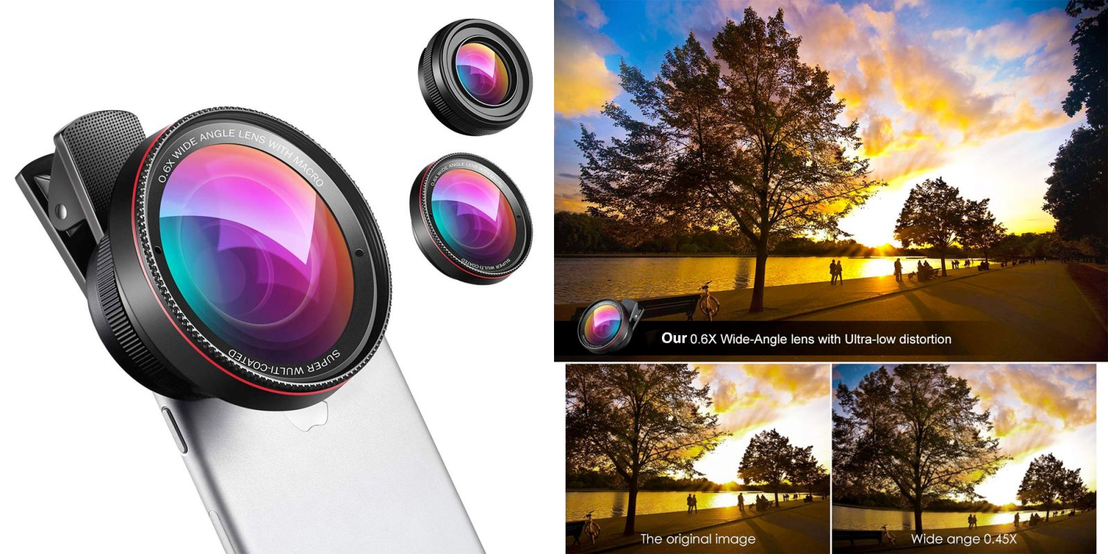 Save 60% on this 2-in-1 iPhone camera lens kit and up your photo game at $6.50