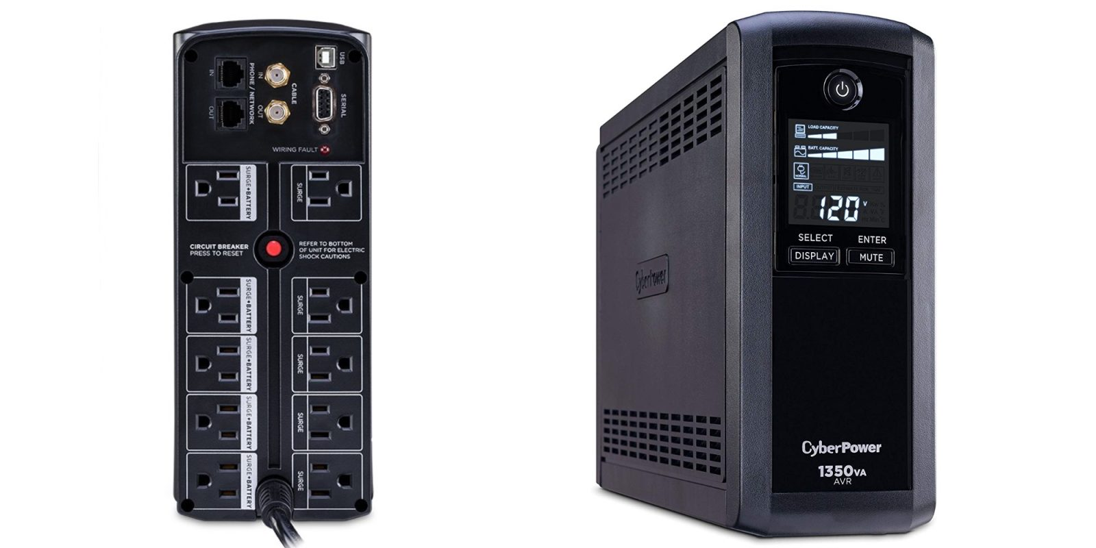 Fight off power outages with CyberPower's 1350VA 10-Outlet UPS at $110 ($25 off)