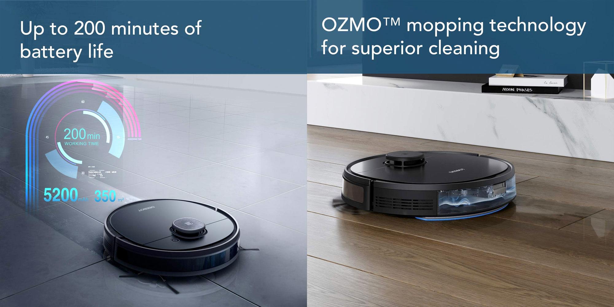 ECOVACS DEEBOT OZMO 950 Aspirateur Robotique
