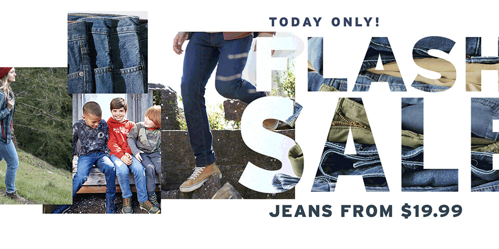Eddie Bauer Flash Sale offers jeans from $20 just in time for fall