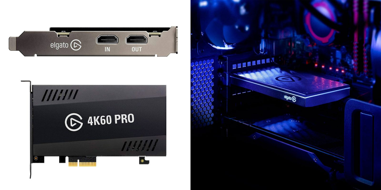 Learn to stream with Elgato's Game Capture 4K60 Pro at $250 (Reg