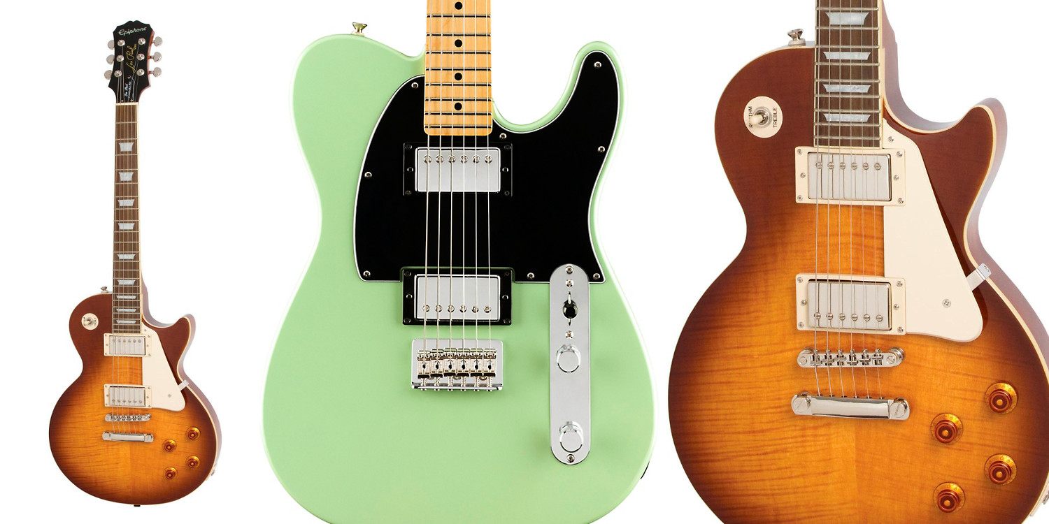 Fender and Gibson guitars up to $400 off with deals starting