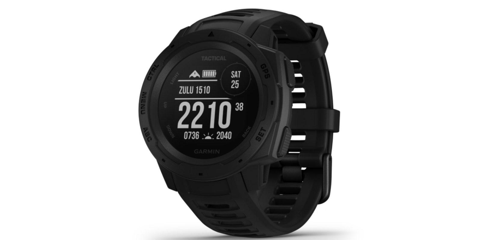 Garmin's rugged Instinct GPS smartwatch hits a new low of $220 (Reg. $300)