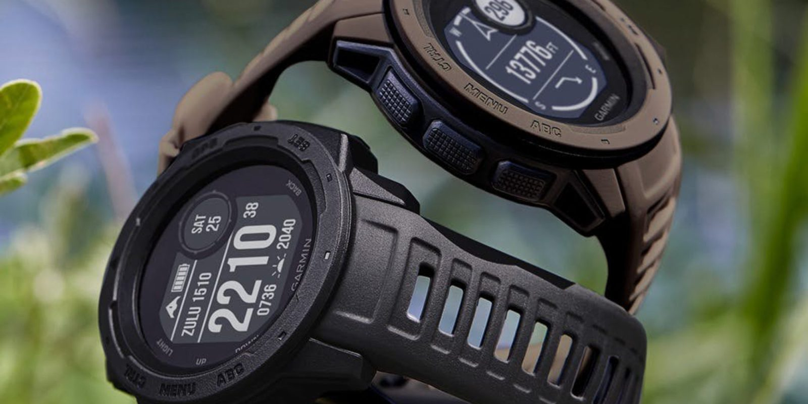 Garmin Instinct Tactical Edition has stealth + night vision