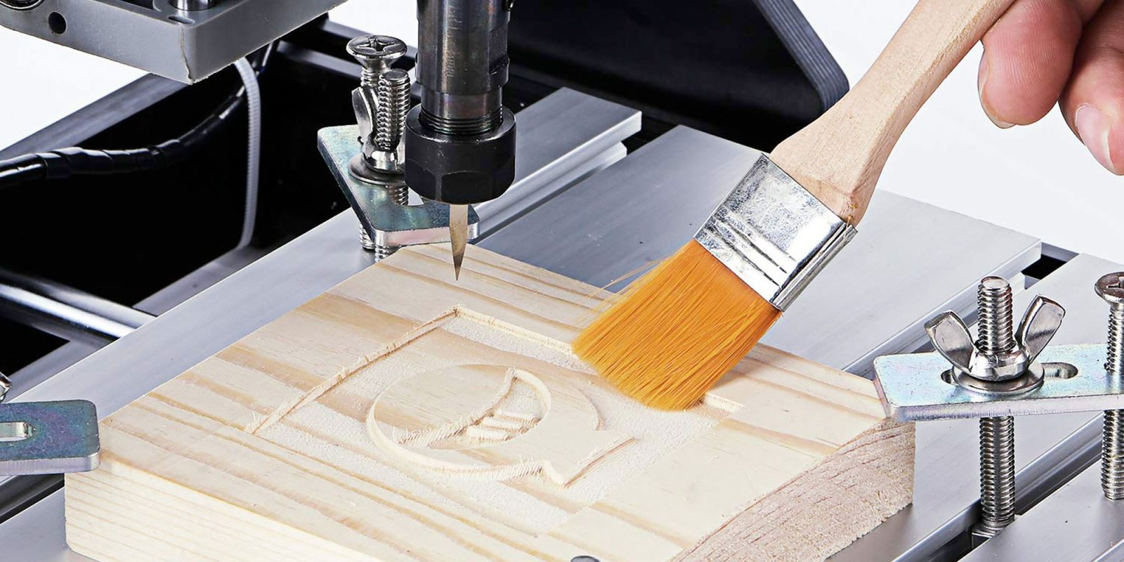 Take your DIY creativity to the next level w/ a CNC router: $190