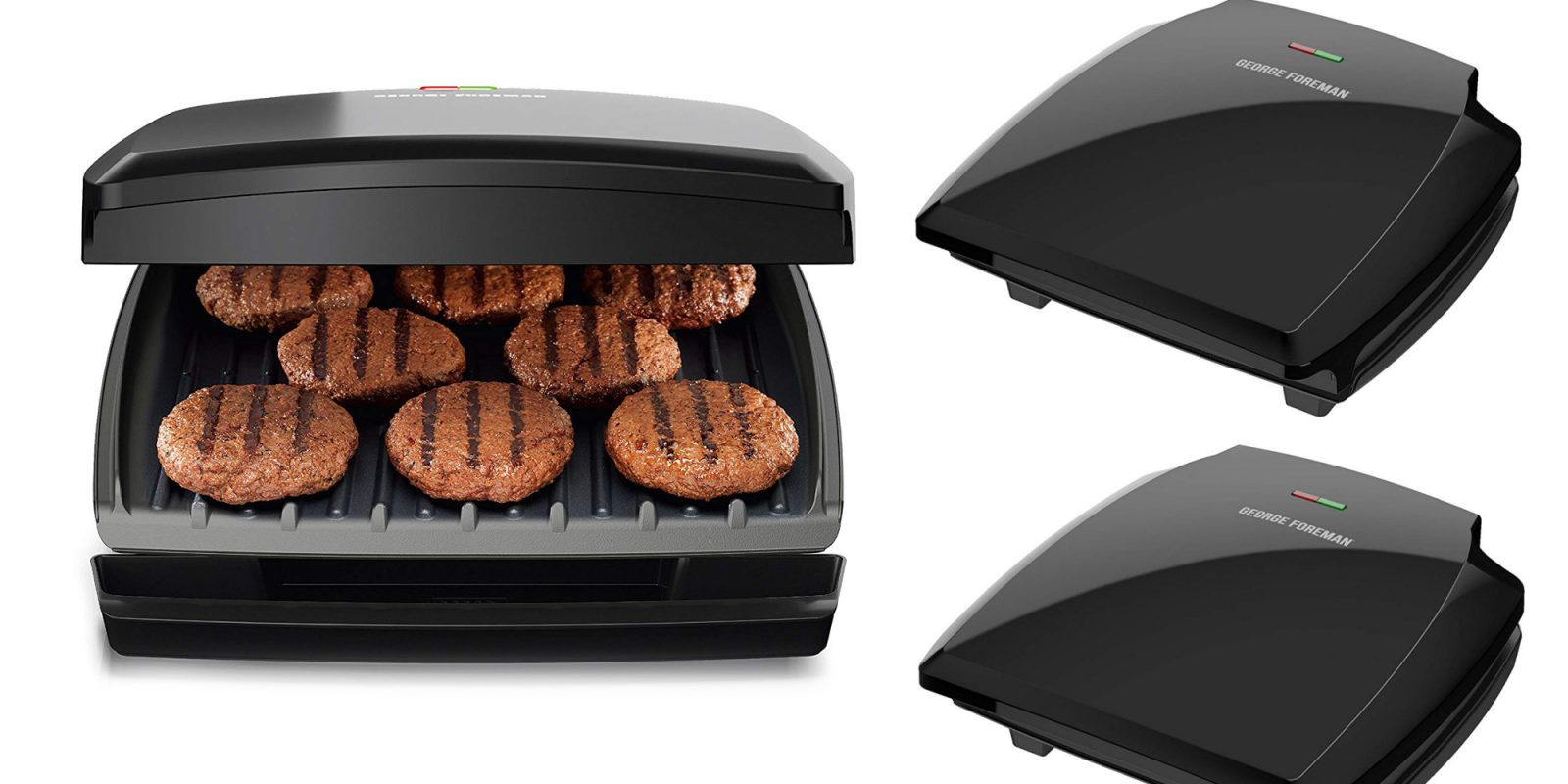 George Foreman's 8-serving Grill Press hits the Amazon low at $37 (Reg. $60)