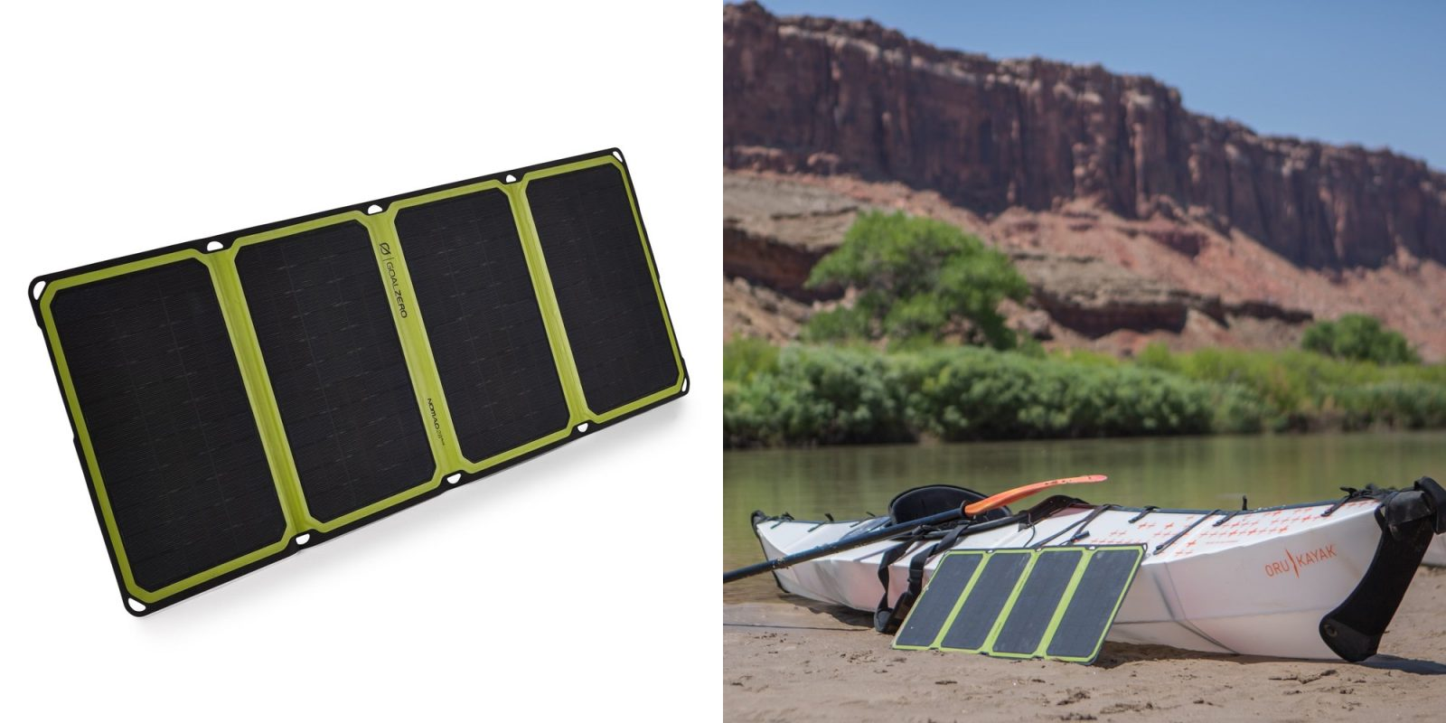 Save 30% on Goal Zero's $175 Nomad 28 Plus Solar Panel Charger at a 2019 low