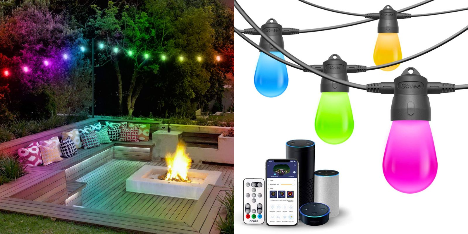 Save 40 On This Alexa Istant Rgb Led Outdoor String