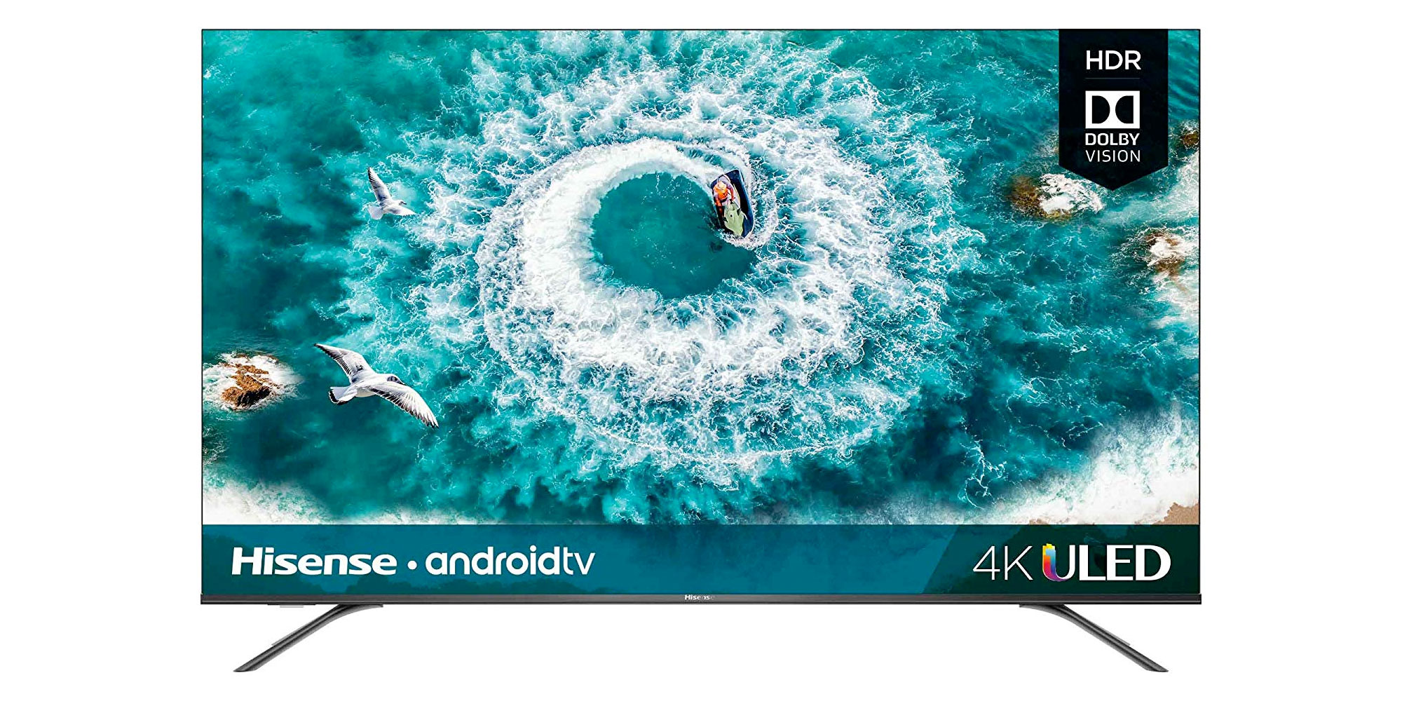 Upgrade to a Hisense 4K HDR10/Dolby Vision Smart UHDTV from $228, more