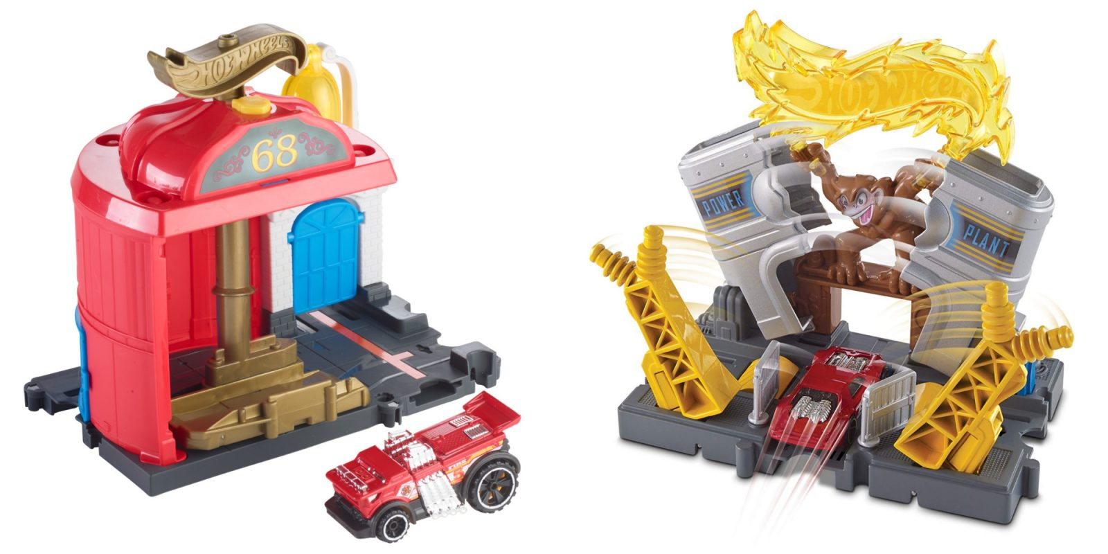 Hot Wheels Playsets from $4: Track Builder, Fire Station, more (Reg. $12+)