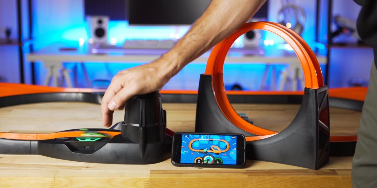 Challenge completed in Hot Wheels id app