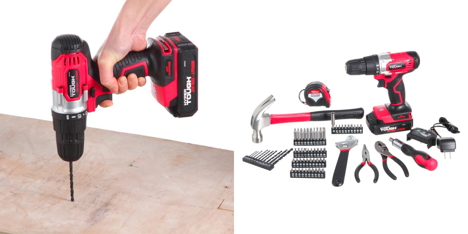 This 70-piece project kit packs a 20V drill/driver and more for $35.50