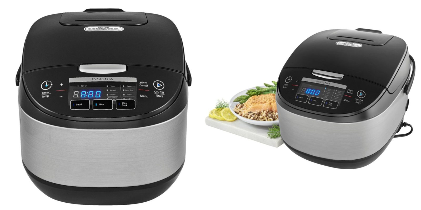 This stainless steel 20-cup rice cooker is just $30 shipped (Reg. up to $100)