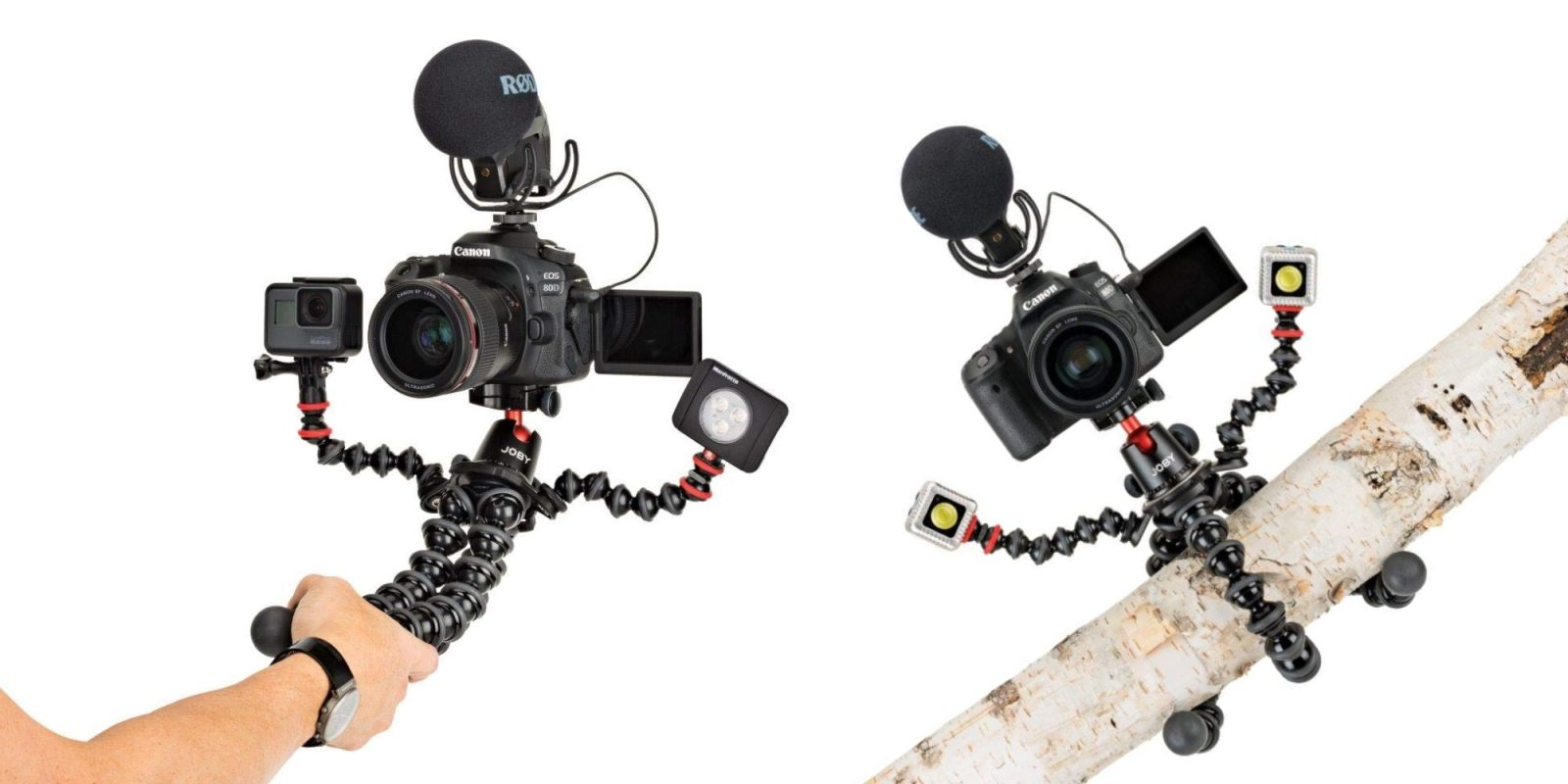 Supercharge your photography kit with JOBY's GorillaPod Rig at $85 (Reg. $200)