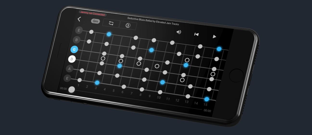 Jammy Digital Guitar app