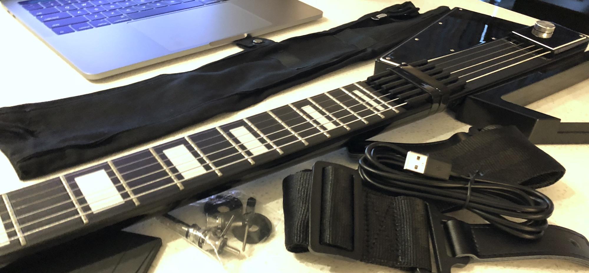 Jammy Digital Guitar hands-on