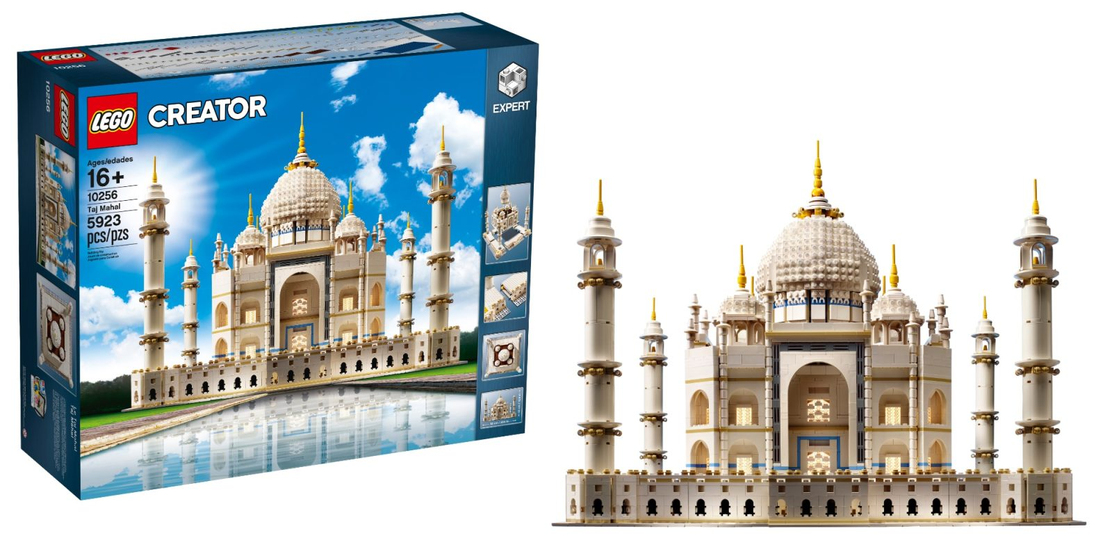 LEGO's 5,900-piece Creator Expert Taj Mahal drops to new low at $90 off, more