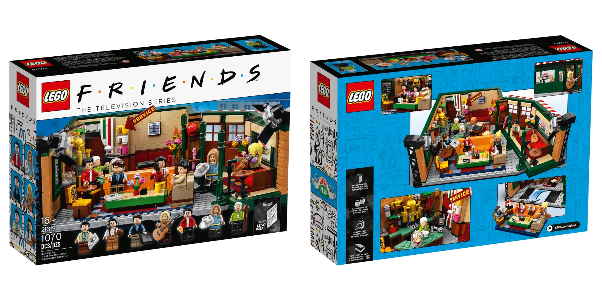 7 New 1 Figs 070 Perk 9to5toys Friends And Packs Bricks Lego Central uZOikPX
