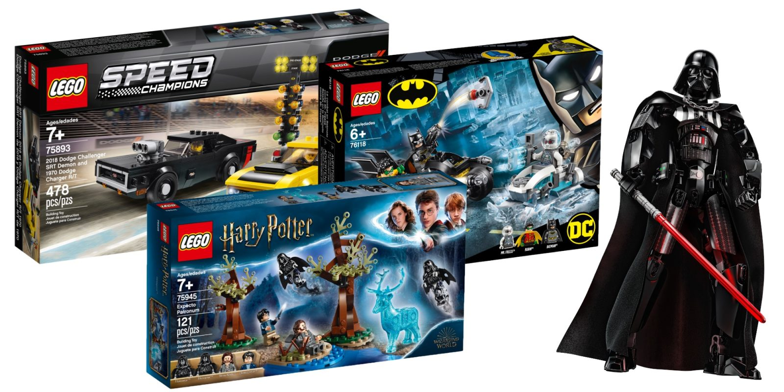 Save up to 30% on LEGO Speed Champions, Star Wars, Harry Potter, more from $10