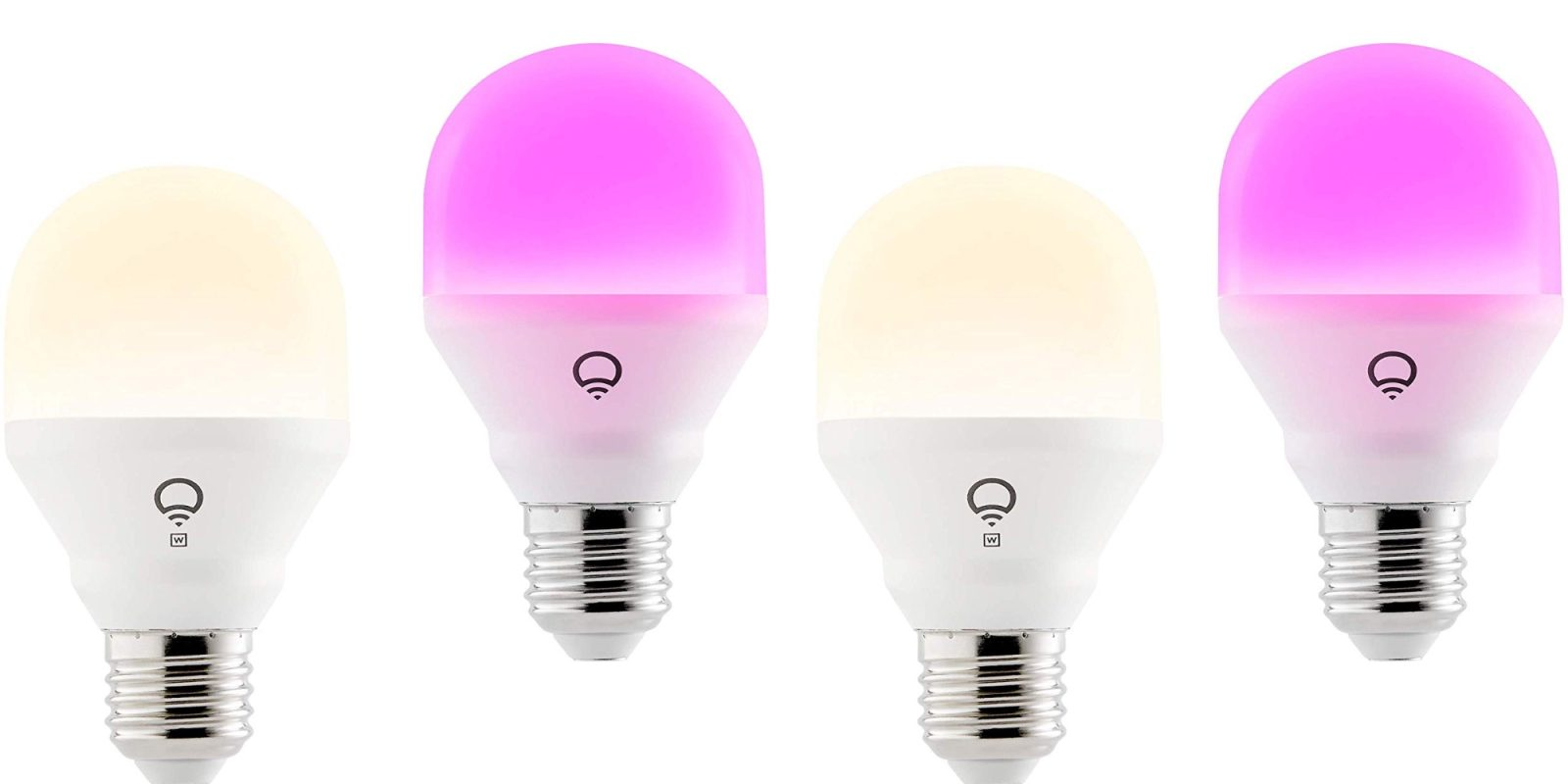 LIFX Mini HomeKit Color Light Bulb drops to $32 (23% off) + dimmable white $15