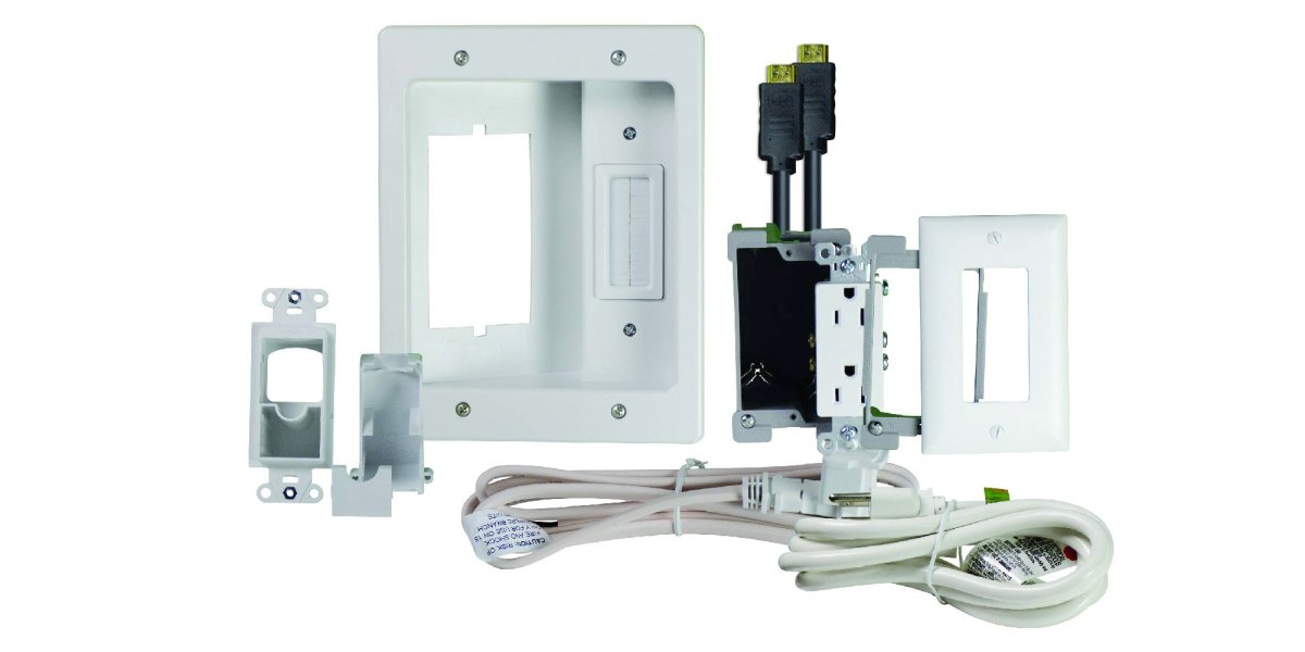 legrand on-q home theater cable management kit