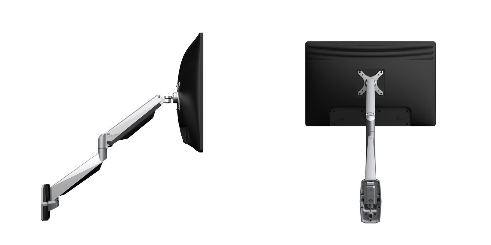 Aluminum and gas springs adorn Loctek's Monitor Wall Mount: $86.50 (Save $20)