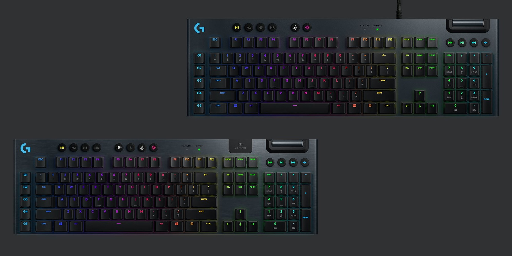 Logitech G915 Gaming Keyboard debuts with new key switches