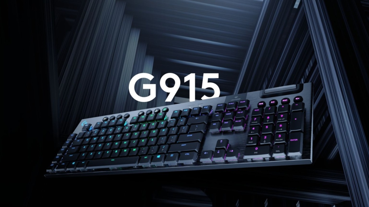 Logitech G915 Gaming Keyboard