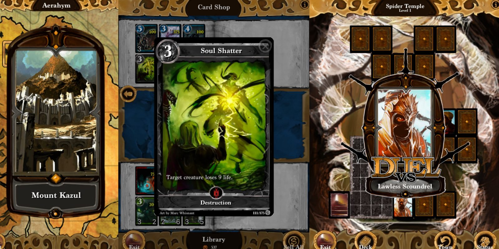 Top ranked iOS card game Lost Portal CCG now $1 on the App Store (50