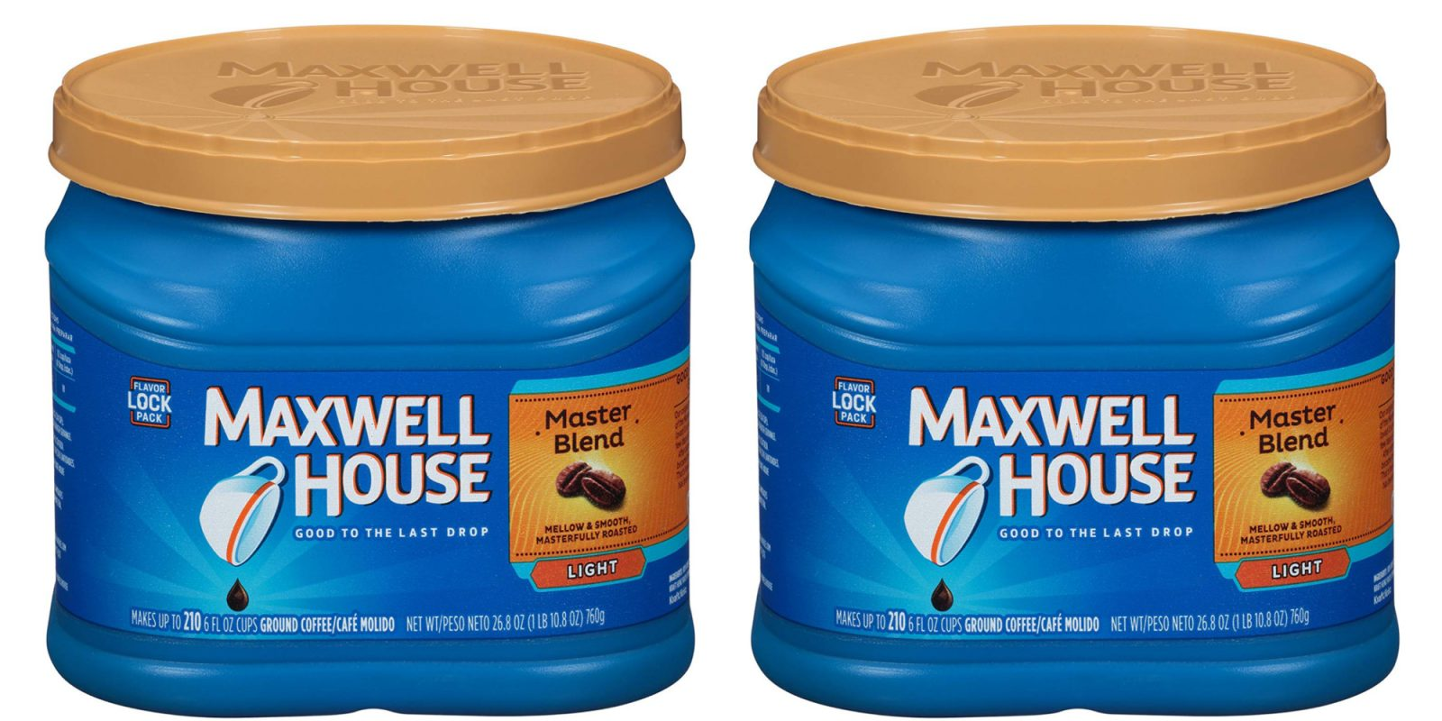 Ground coffee/K-Cup deals from $4.50: Maxwell House, Starbucks, more