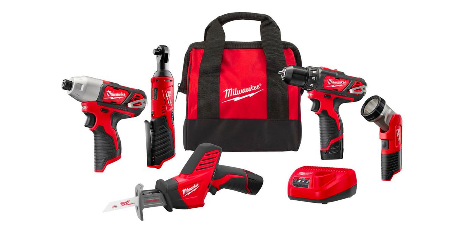 Milwaukee's 5-tool combo kit is a DIYer must-have at $199 (Reg. $349)