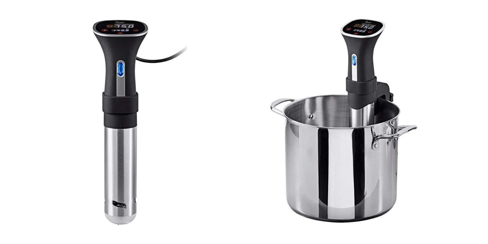 Let Monoprice's Sous Vide Cooker do most of the work for you: $49 (Reg. $70)
