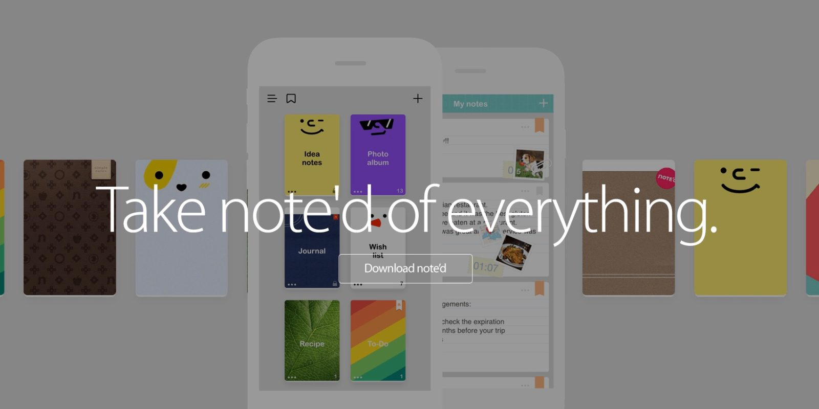 Give the full version of NOTE'd for iOS a try while it's FREE (Reg. $2)