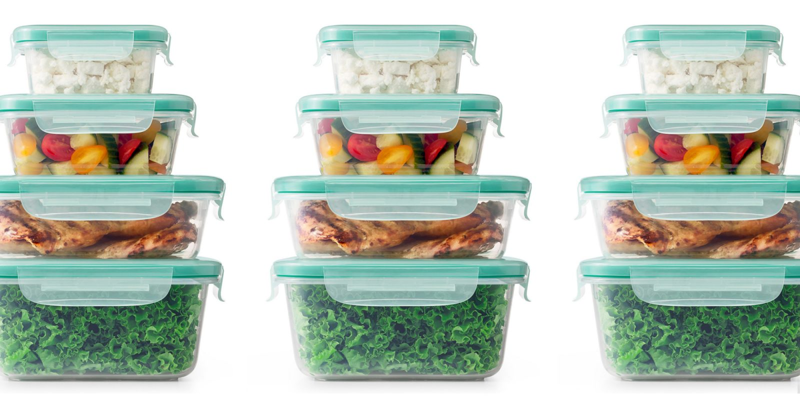 OXO's 20-piece Smart Seal Food Storage Set down to $20 (nearly 35% off)