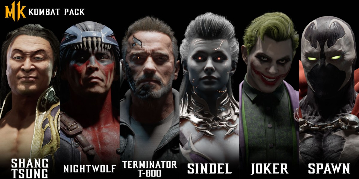 New Mortal Kombat 11 characters revealed