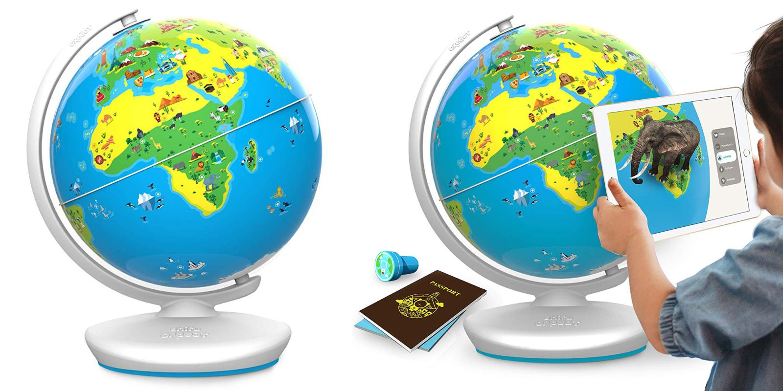 Orboot iOS/Android AR Interactive Globe STEM Kit now $35 (Reg. $50) + more
